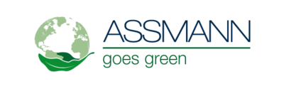ASSMANN goes green logotypy